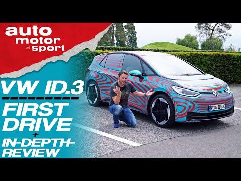 VW ID.3 (2019): first drive & in-depth-review [engl.] - Bloch erklärt #64 | auto motor & sport
