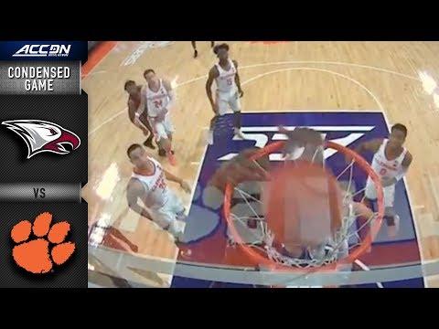 North Carolina Central vs. Clemson Condensed Game | 2018-19 ACC Basketball