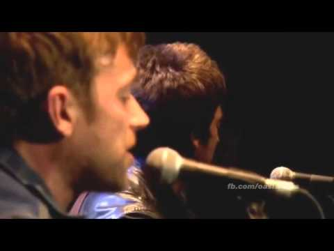 "PRO-SHOT Oasis and Blur - ""Tender"" @ TCT 2013 (Noel Gallagher, Damon Albarn, Coxon and Weller)"