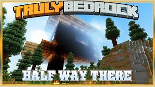 Truly Bedrock S1E41 Witch Farm, Half way there! | Minecraft Bedrock Edition SMP, MCPE, MCBE