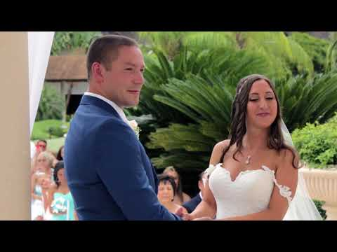 Christina & Kirill Wedding Ceremony - Dreams Punta Cana - Dominican Republic