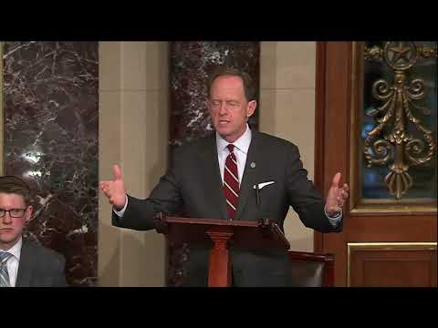 Sen. Toomey discusses amendments to restore congressional authority 6-6 -8