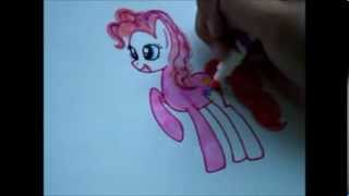видео как нарисовать малитл пони