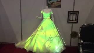 Проекция на свадебное платье
