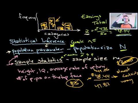 Intro to Statistics 3 - Descriptive and Inferential Statistics, Excel, Ethics