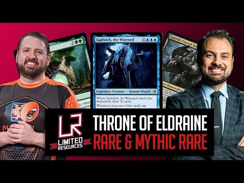 Limited Resources 511 – Throne Of Eldraine Set Review: Rare And Mythic Rare