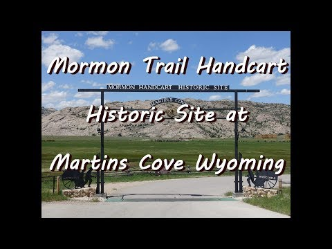Mormon Hand Cart Historic Site at Martin's Cove