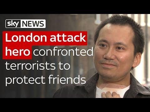 London terror survivor who fought the attackers