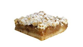 Простой песочный яблочный пирог. Пошаговый видео рецепт.(Нежное песочное тесто, в этом пироге, дополняется приятной кислинкой яблочной прослойки. Готовится такой..., 2016-09-26T15:58:29.000Z)