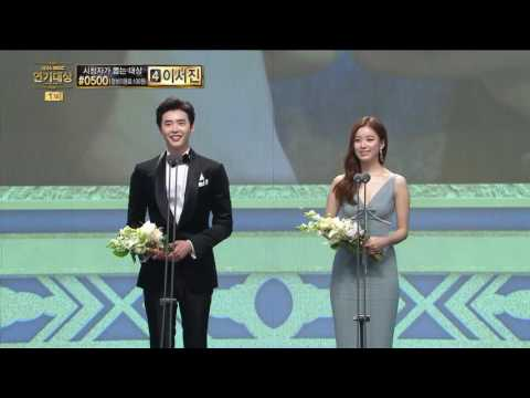 【TVPP】 Han Hyo-Joo – Best couple award with Lee Jong-Suk, 한효주 - 베스트 커플상 수상 소감! @2016Drama Awards