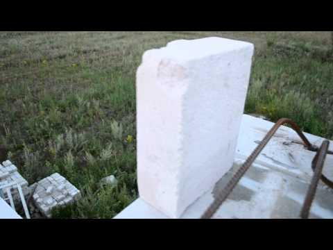 Треугольная арматура для перемычек, видеодневник строительства
