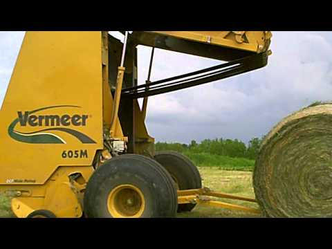 Putting up brome hay - 2010