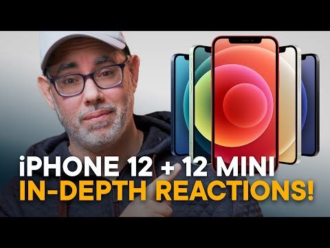 iPhone 12 & iPhone 12 mini — Tech Reviewer Reacts!