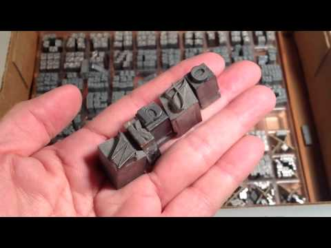 When Linotype Lead Pervaded The Land