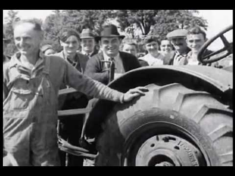 Farmer Miller Goes Into High Gear 1920's Goodyear Tire Film