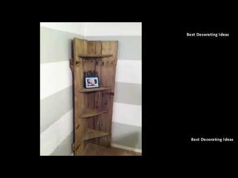 Corner Shelf - Corner Shelf Decorating Ideas | Modern Wooden & Metal Shelves Best Pics