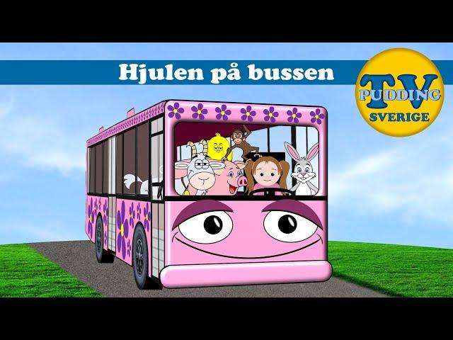 Hjulen på bussen - Svenska barnsånger