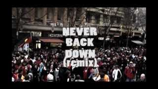 Never Back Down (remix) - DARAH (Australian Aboriginal Hip-Hop)