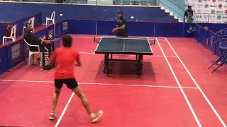 Mitul Vyas Table Tennis Point Never Give Up