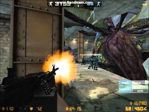 Counter Strike Online Zombie and Original Scenario