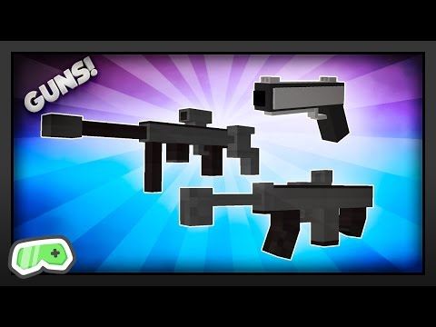 Minecraft - How To Get Guns