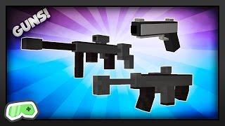 Minecraft - How to Get Guns