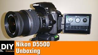Nikon D5500 Unboxing