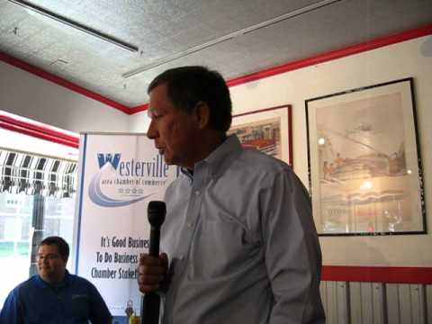 Ohio Gov. John Kasich talks about jobs, education and other issues.