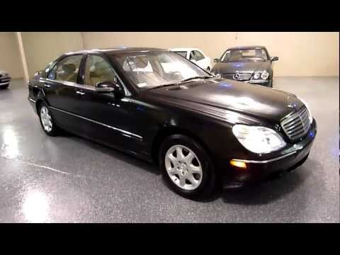 2000 Mercedes-Benz S500 4dr Sedan 5.0L (#2065) (SOLD)