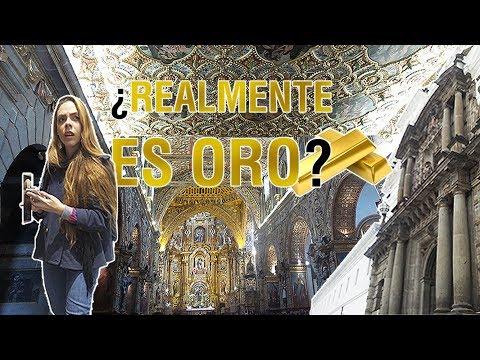 Visitando IGLESIAS de Quito ⛪ 😱 - Historias INTERESANTES 👹