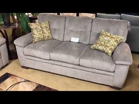 Coaster Fairbairn 506581 Grey Sofa Loveseat Set Wyckes Furniture