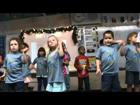 Christmas 2011 Lacy  Kindergarten Fruitville Elementry