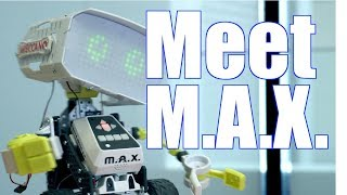 Meet Meccano M.A.X - A Robotic Interactive Toy with Artificial Intelligence!