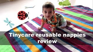 Tinycare reusable nappies review