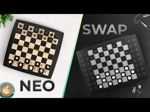 Gadget Oggetti Fantastici Regali per Donna Regali per Ragazzi Regali per uomo  0 Square Off NEO: L'esclusiva  scacchiera che gioca con te
