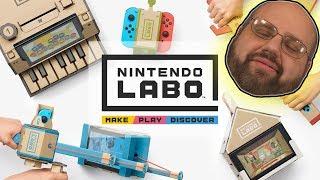 Let's Discuss Expensive Cardboard #NintendoLabo