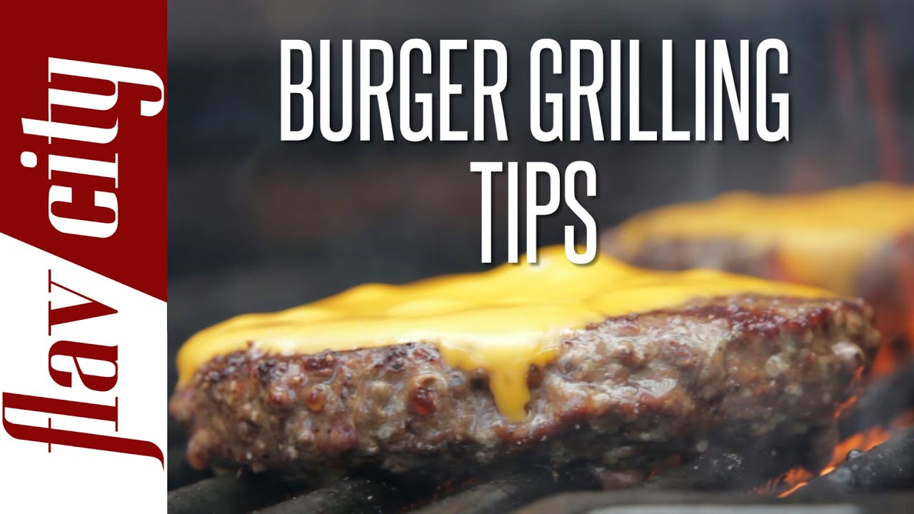 how to grill perfect burger