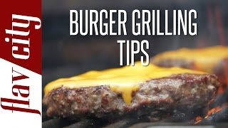 How Grill Perfect Burger