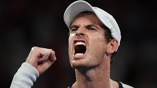 After a premature farewell Andy Murray proves he's still a champion