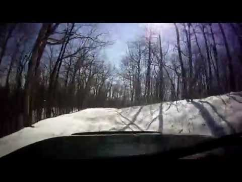 Chattahoochee National Forest Off Road Snow Adventure