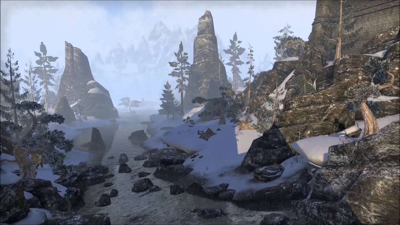 The Elder Scrolls Online is Beautiful - YouTube