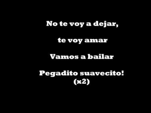 Pegadito Suavecito Letra- Elvis Crespo Y Fito Blanko