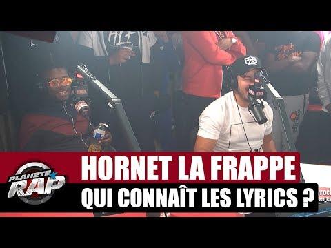 Hornet La Frappe - Qui connaît les lyrics avec Ninho #PlanèteRap