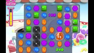 Candy Crush Saga level 607 - 3 stars, no boosters used!