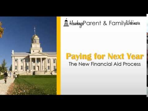 2016-2017 Parent & Family Webinar: Financial Aid