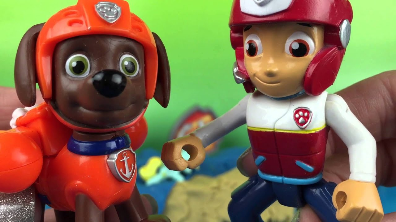 Paw Patrol Rescue Pups Zuma Helps Save My Little Pony Mlp