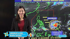 Public Weather Forecast Issued at 4:00 AM December 23, 2019