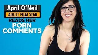 Adult Film Star April O'Neil Reads Comments Left on Her Pornhub Videos