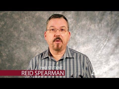 Fielding Graduate University | PhD Student | Reid Spearman