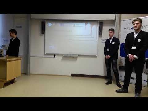 "Erasmus +, Vet4scape Presentation ChocoDelta junior company -   Economic College ""Danube Delta """